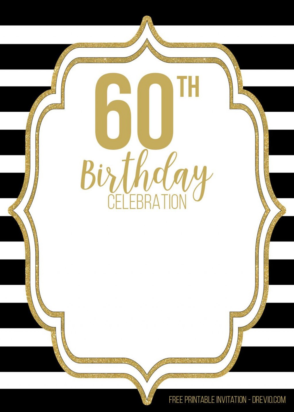 009 Sensational 60th Birthday Invite Template Picture  Templates Funny Invitation Free PartyLarge