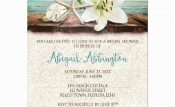 009 Sensational Beach Wedding Invitation Template High Definition  Templates Free Download For Word