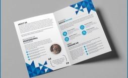 009 Sensational Bi Fold Brochure Template Word Sample  Free Download Microsoft