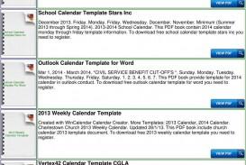009 Sensational Calendar Template For Word 2007 High Def