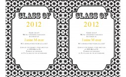 009 Sensational College Graduation Invitation Template Photo  Templates Free Party