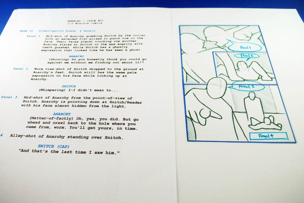 009 Sensational Comic Book Script Writing Format High Resolution  ExampleLarge