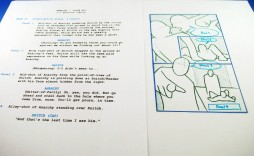 009 Sensational Comic Book Script Writing Format High Resolution  Example