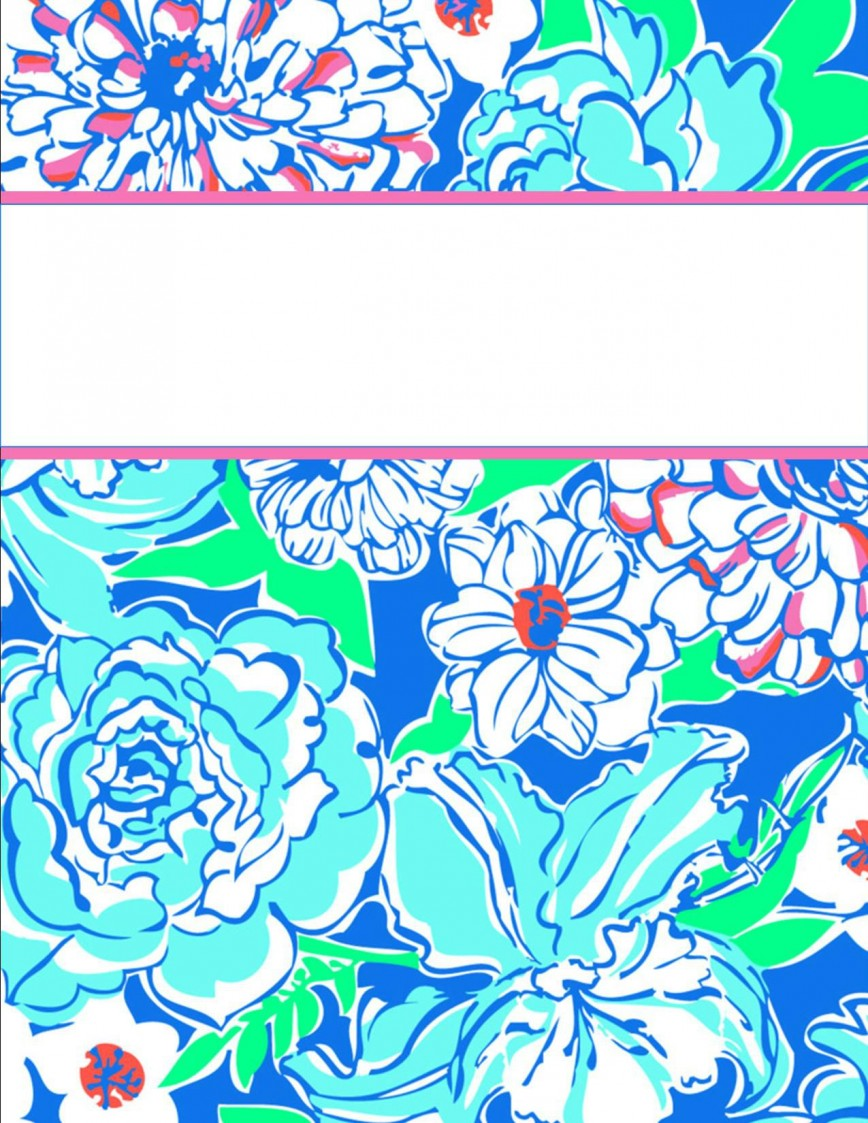 009 Sensational Cute Binder Cover Template Free Printable Highest Quality