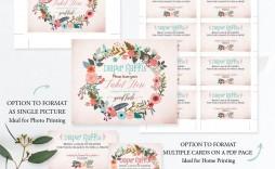 009 Sensational Diaper Raffle Ticket Template Example  Free Printable Download