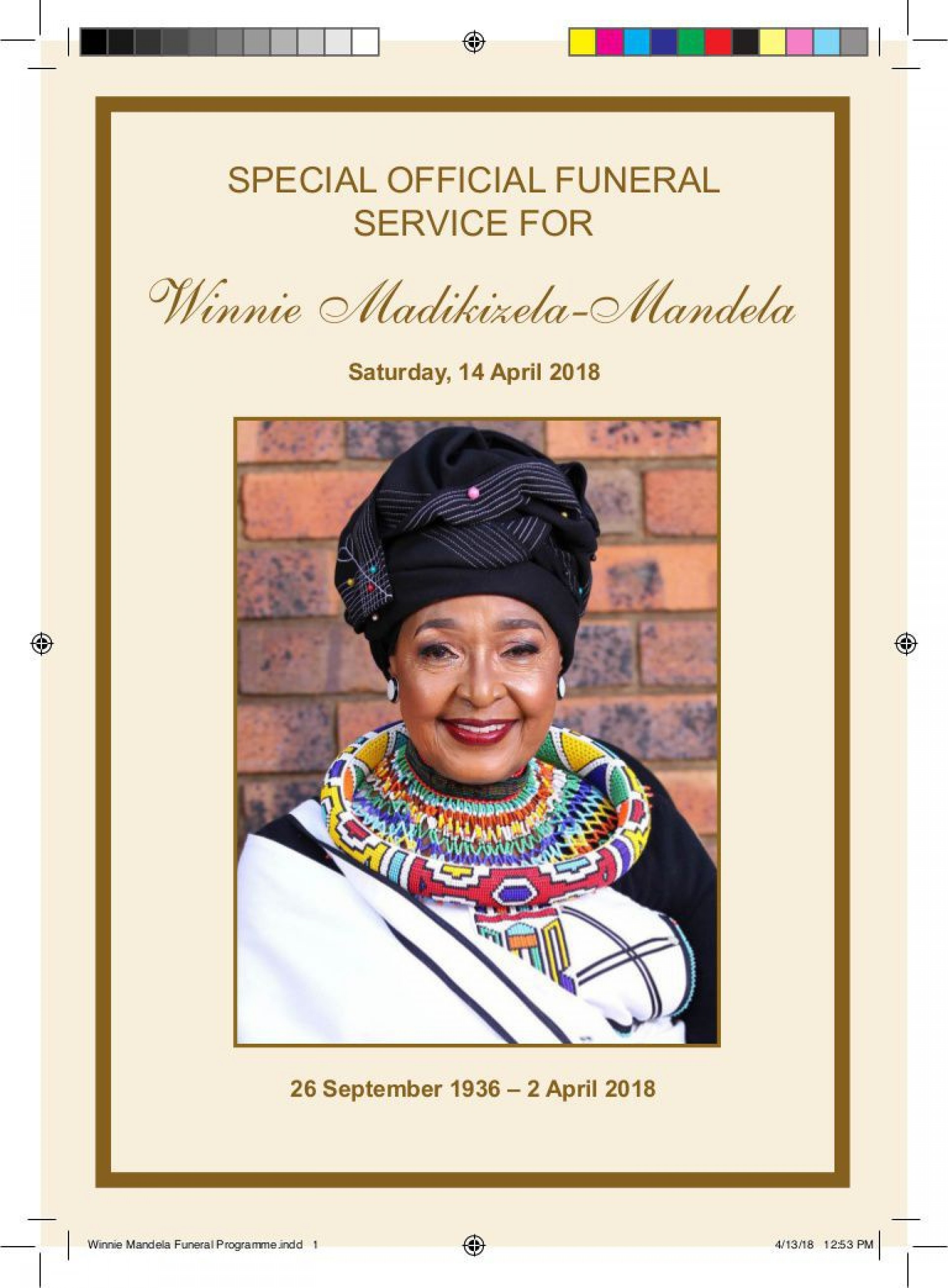 009 Sensational Example Funeral Programme High Resolution  Format Of Program Template Free To Download1920