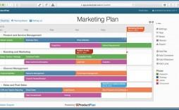 009 Sensational Free Marketing Plan Template Design  Music Download Digital Pdf Excel