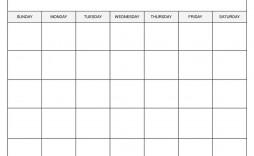 009 Sensational Free Printable Blank Monthly Calendar Template Concept  Templates
