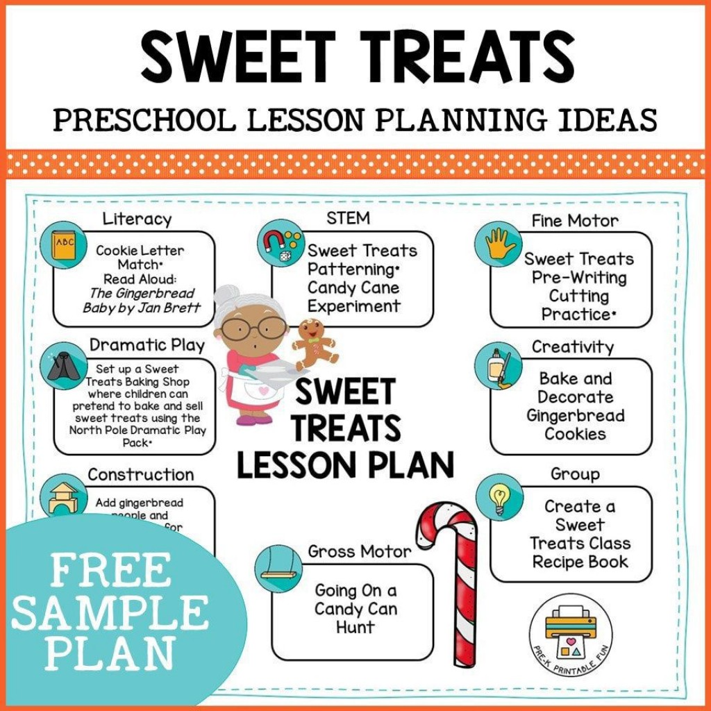 009 Sensational Free Printable Pre K Lesson Plan Template Picture  ToddlerLarge