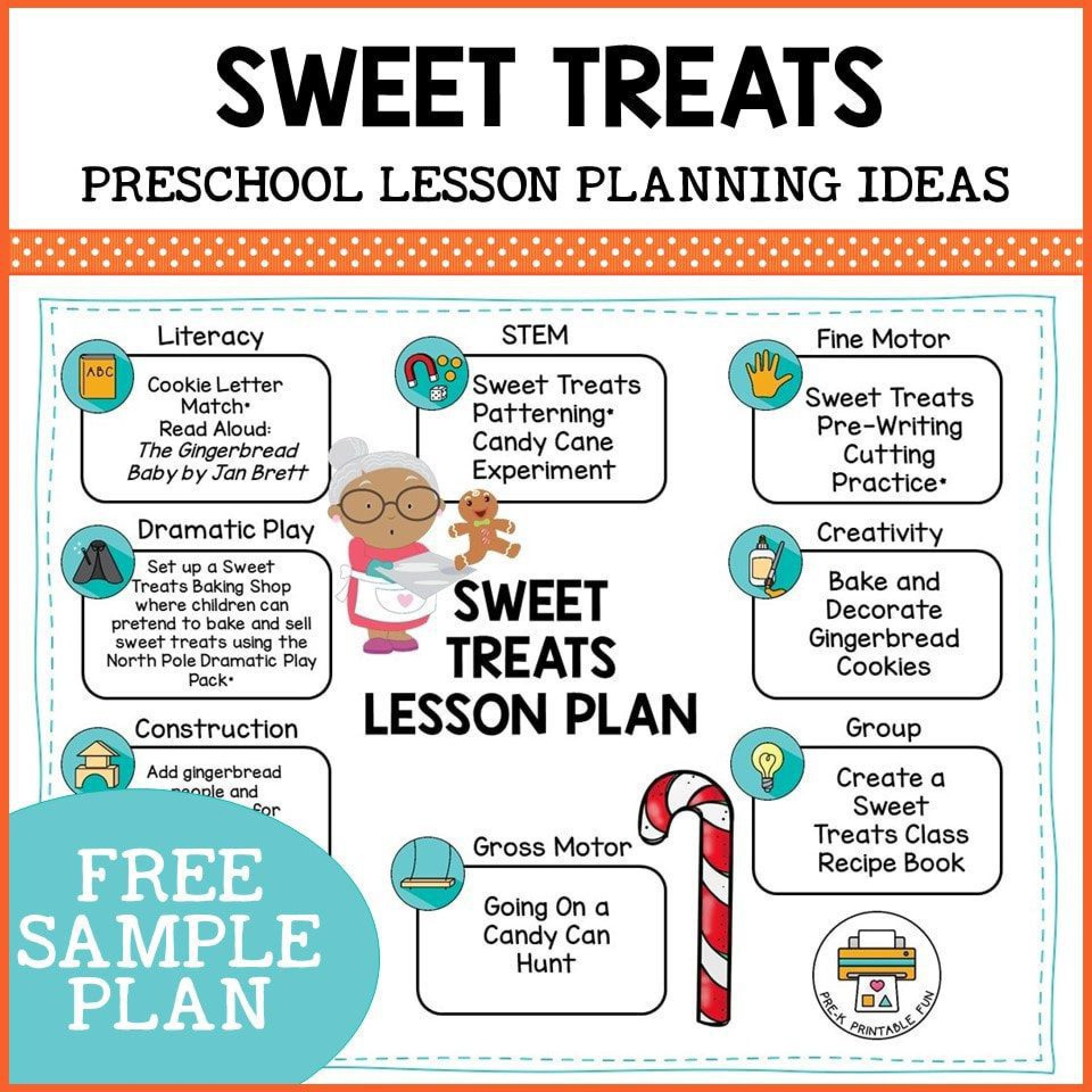 009 Sensational Free Printable Pre K Lesson Plan Template Picture  Toddler1920