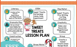 009 Sensational Free Printable Pre K Lesson Plan Template Picture  Toddler