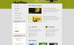 009 Sensational Free Professional Web Design Template Sample  Templates Website Download