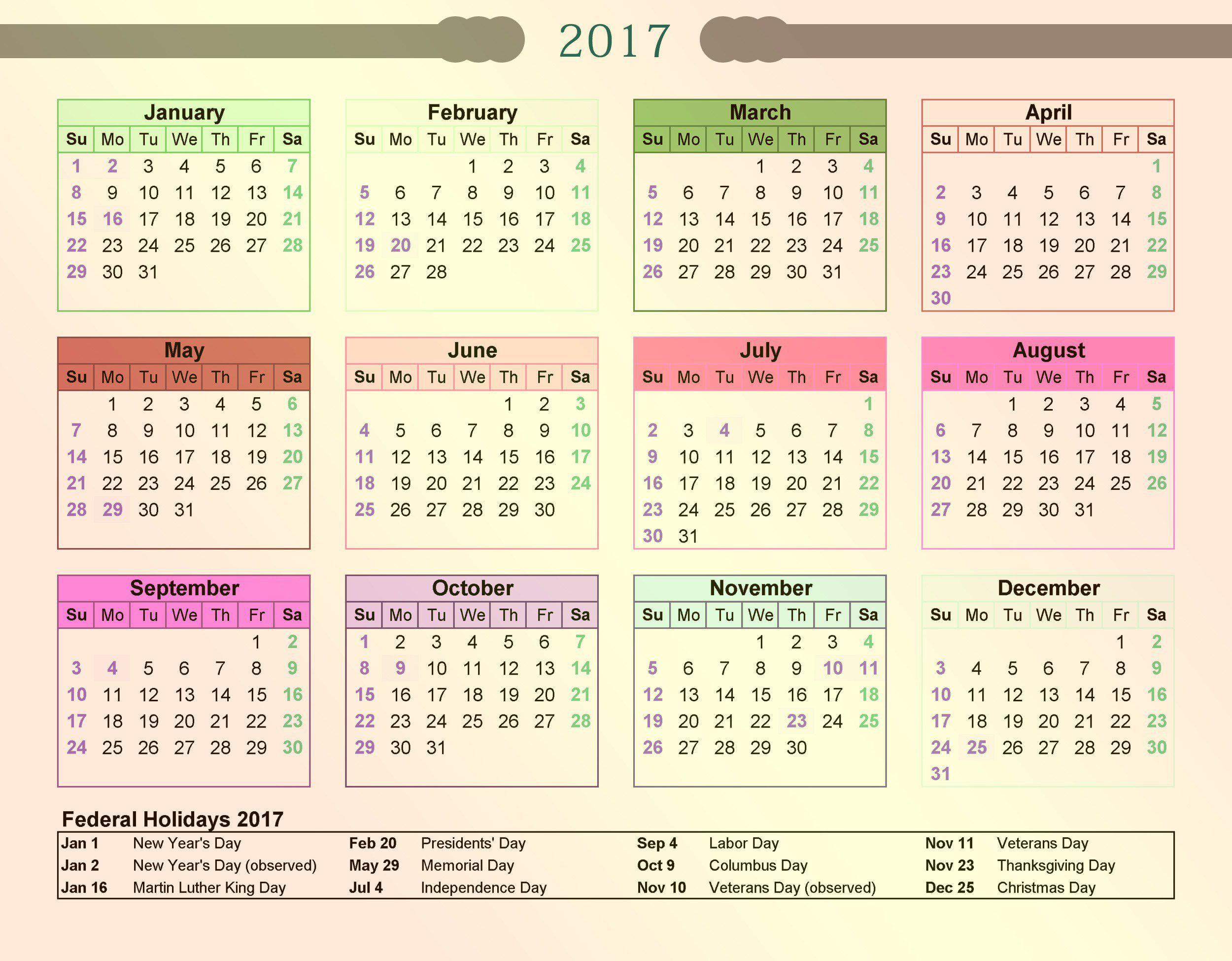 009 Sensational Google Calendar Template 2017 Picture Full