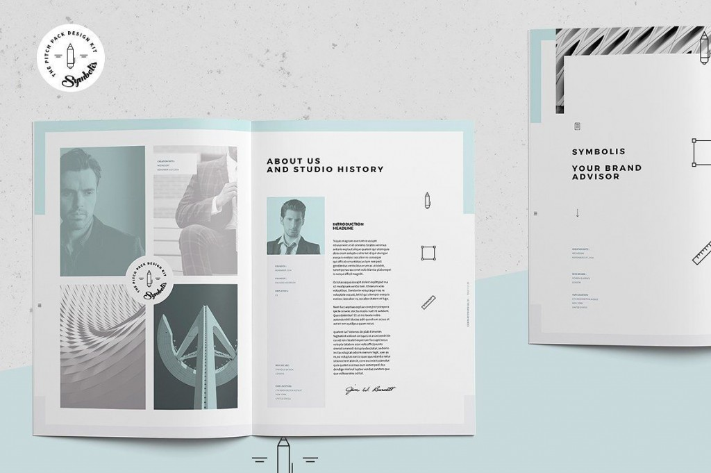 009 Sensational Graphic Design Proposal Template Indesign Picture  FreeLarge