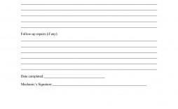 009 Sensational Maintenance Work Order Template Picture  Form Free Sample