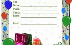 009 Sensational Microsoft Word Pool Party Invitation Template Photo  Templates