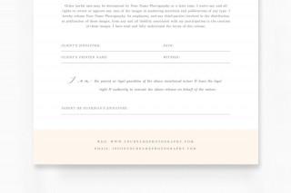 009 Sensational Model Release Form Template Idea  Photographer Gdpr Simple320