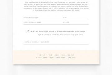 009 Sensational Model Release Form Template Idea  Photographer Gdpr Simple360