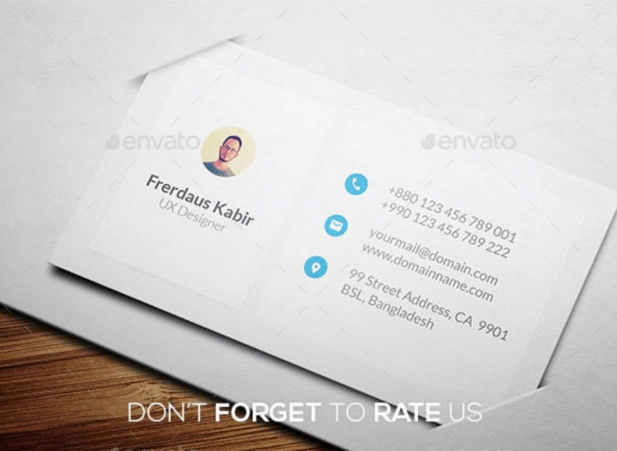 009 Sensational Personal Busines Card Template Example  Trainer Free Training