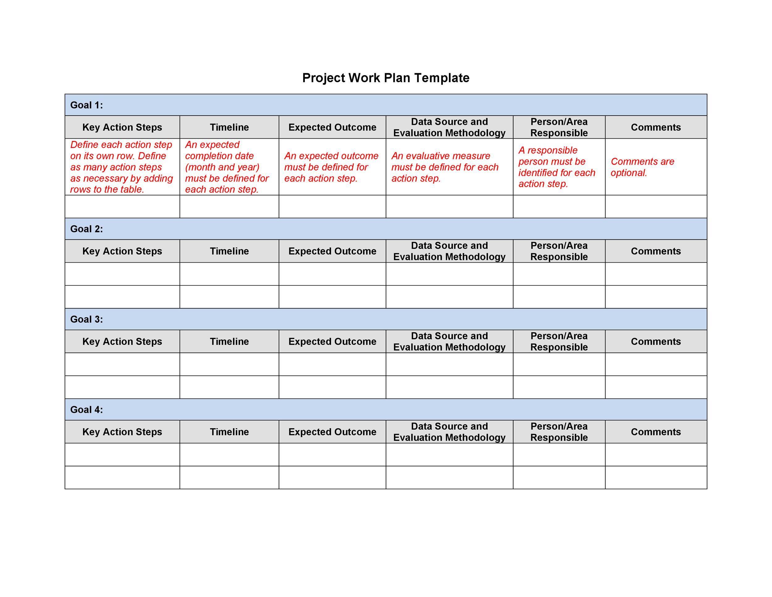 009 Sensational Personal Development Plan Template Word Sample  Free MFull