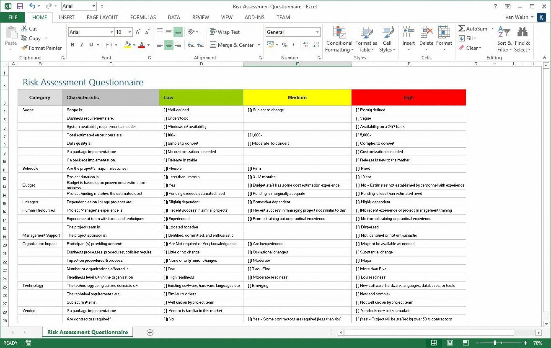 009 Sensational Project Risk Management Plan Template Excel Free High Resolution Full