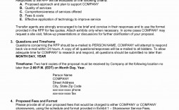 009 Sensational Request For Proposal Template Construction High Resolution  Rfp Residential