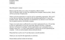 009 Sensational Sample Resignation Letter Template Email Example