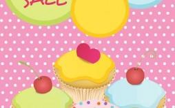 009 Sensational Valentine Bake Sale Flyer Template Free Example  Valentine'