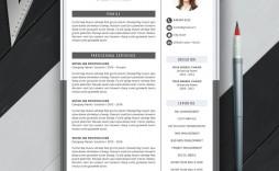 009 Sensational Word Resume Template 2020 Design  Microsoft M