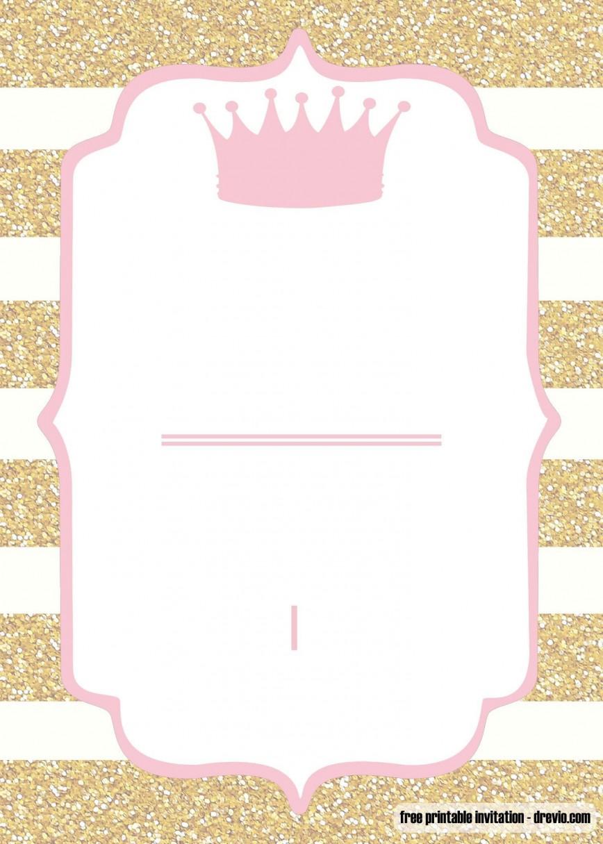 009 Shocking Baby Shower Template Free Printable Design  Invitation For A Girl Online Banner