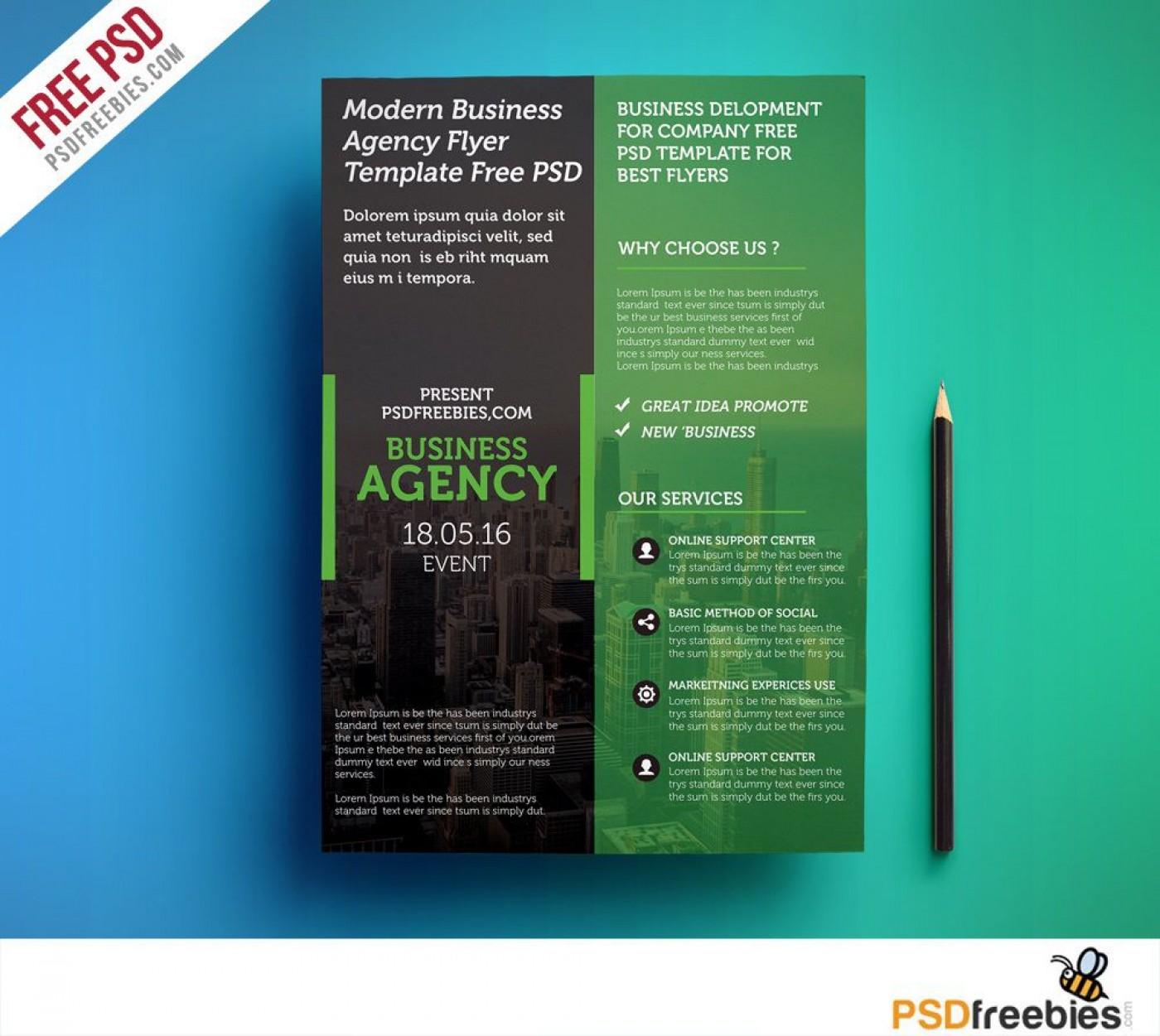009 Shocking Busines Flyer Template Free Download Image  Photoshop Training Design1400