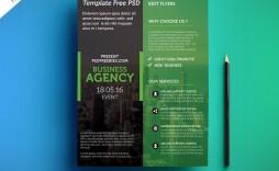 009 Shocking Busines Flyer Template Free Download Image  Psd Design