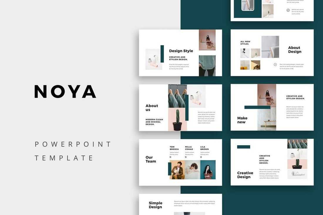 009 Shocking Creative Powerpoint Template Free Design  Download Ppt For TeacherFull