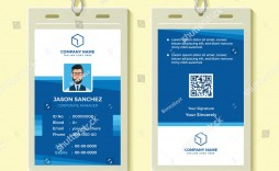 009 Shocking Employee Id Badge Template Idea  Avery Card Free Download Word