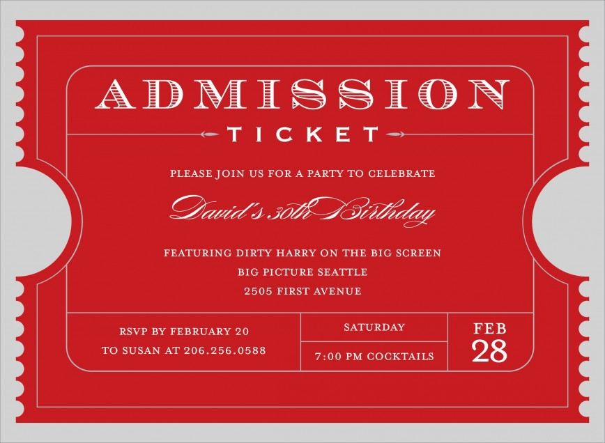 009 Shocking Free Event Ticket Template Printable High Resolution