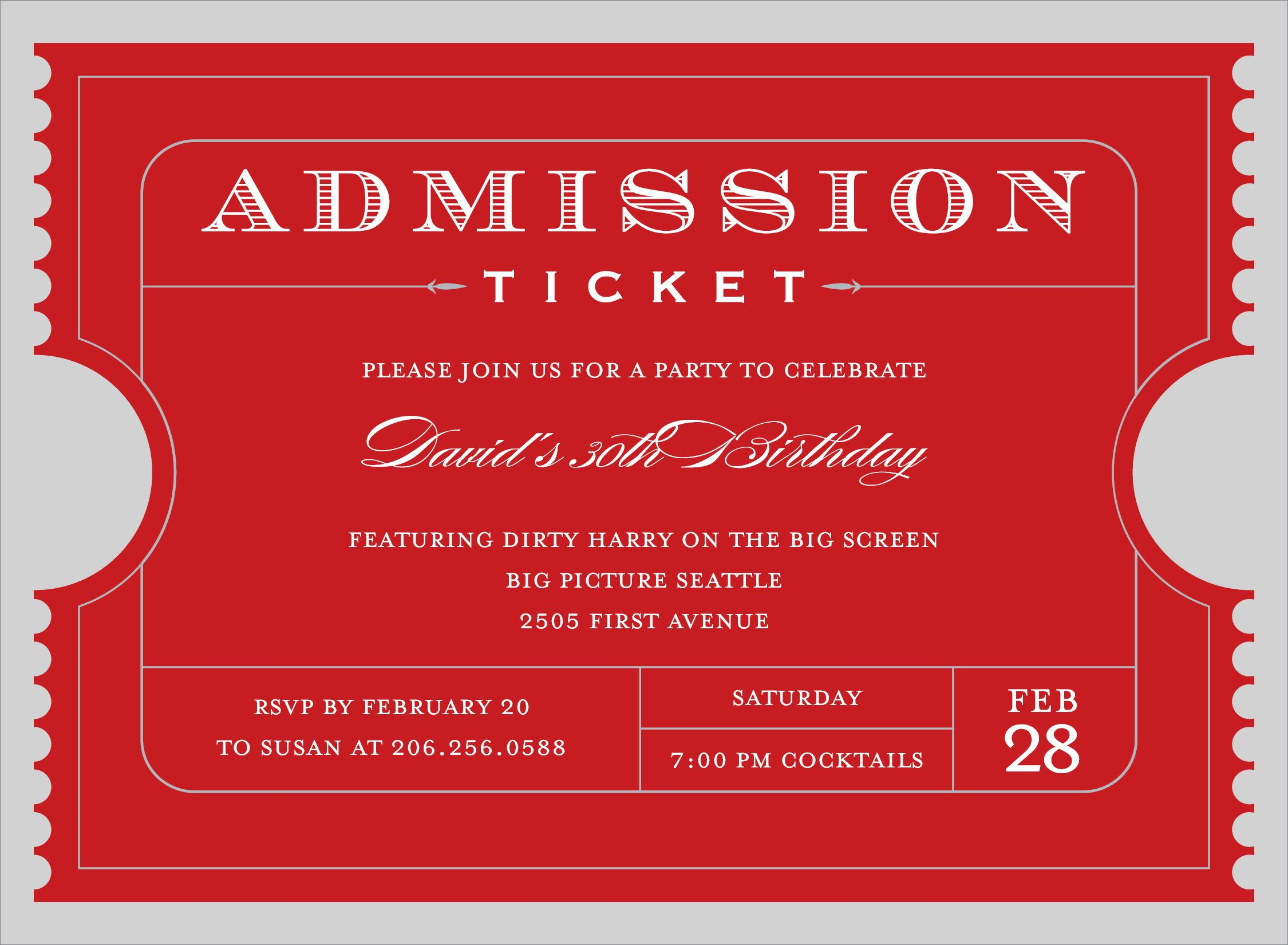 009 Shocking Free Event Ticket Template Printable High Resolution Full