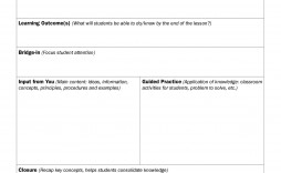 009 Shocking Free Printable Lesson Plan Template For High School Highest Quality