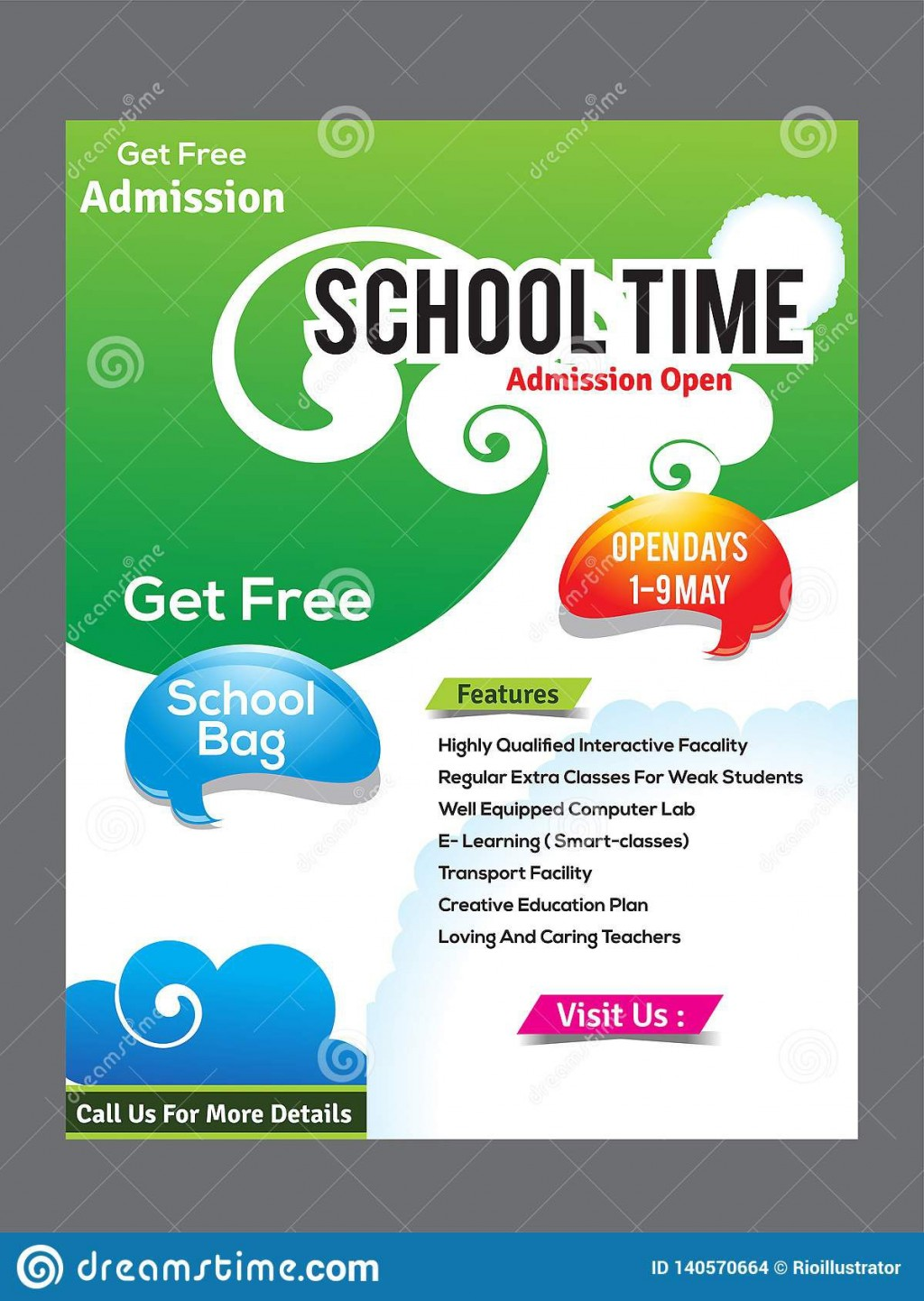 009 Shocking Free School Flyer Template High Resolution  Templates Vacation Bible For Microsoft Word EventLarge