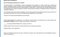 009 Shocking Purchase Agreement Template For Home Image  Mobile