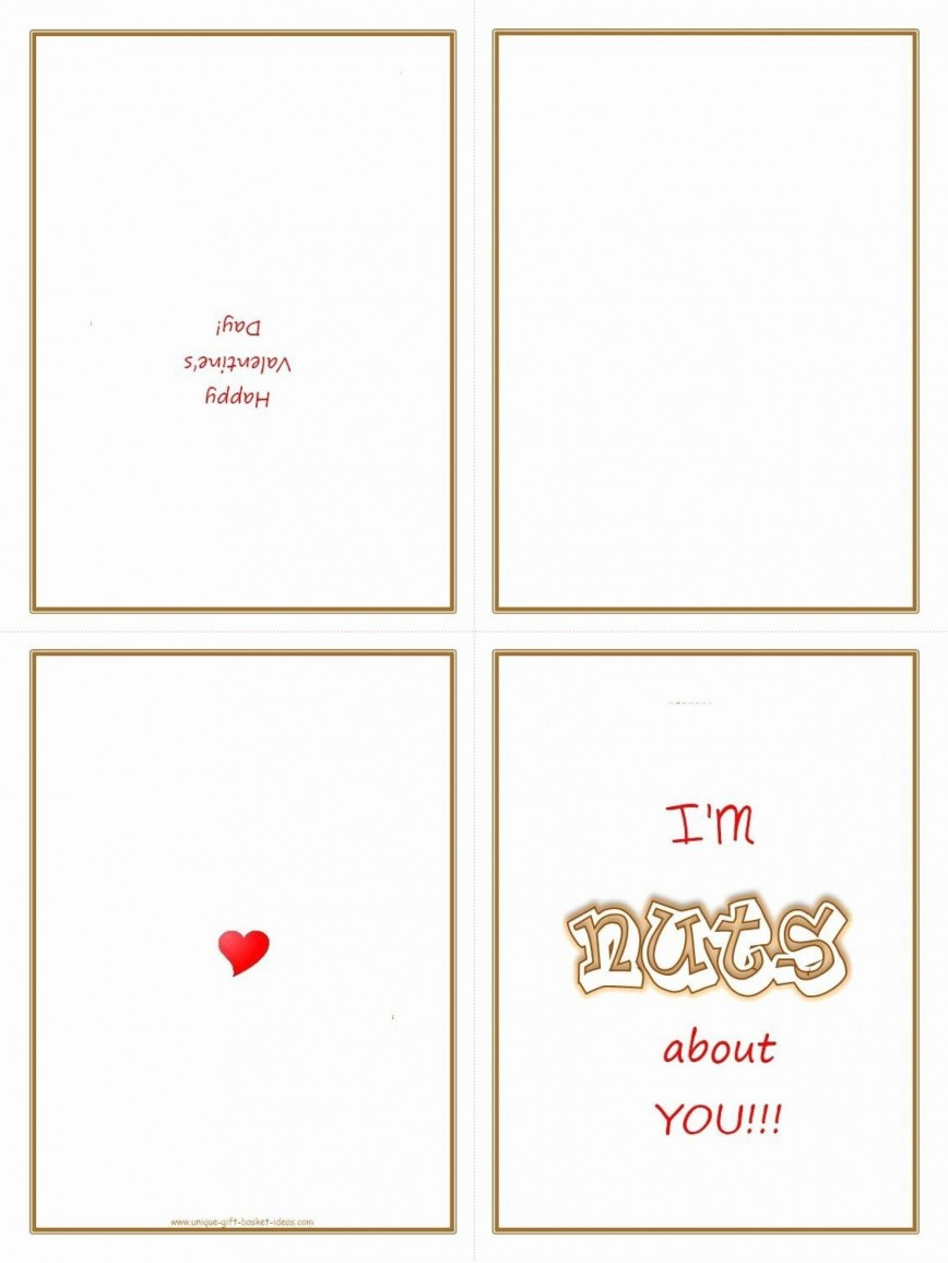 009 Shocking Quarter Fold Card Template Word Blank Image