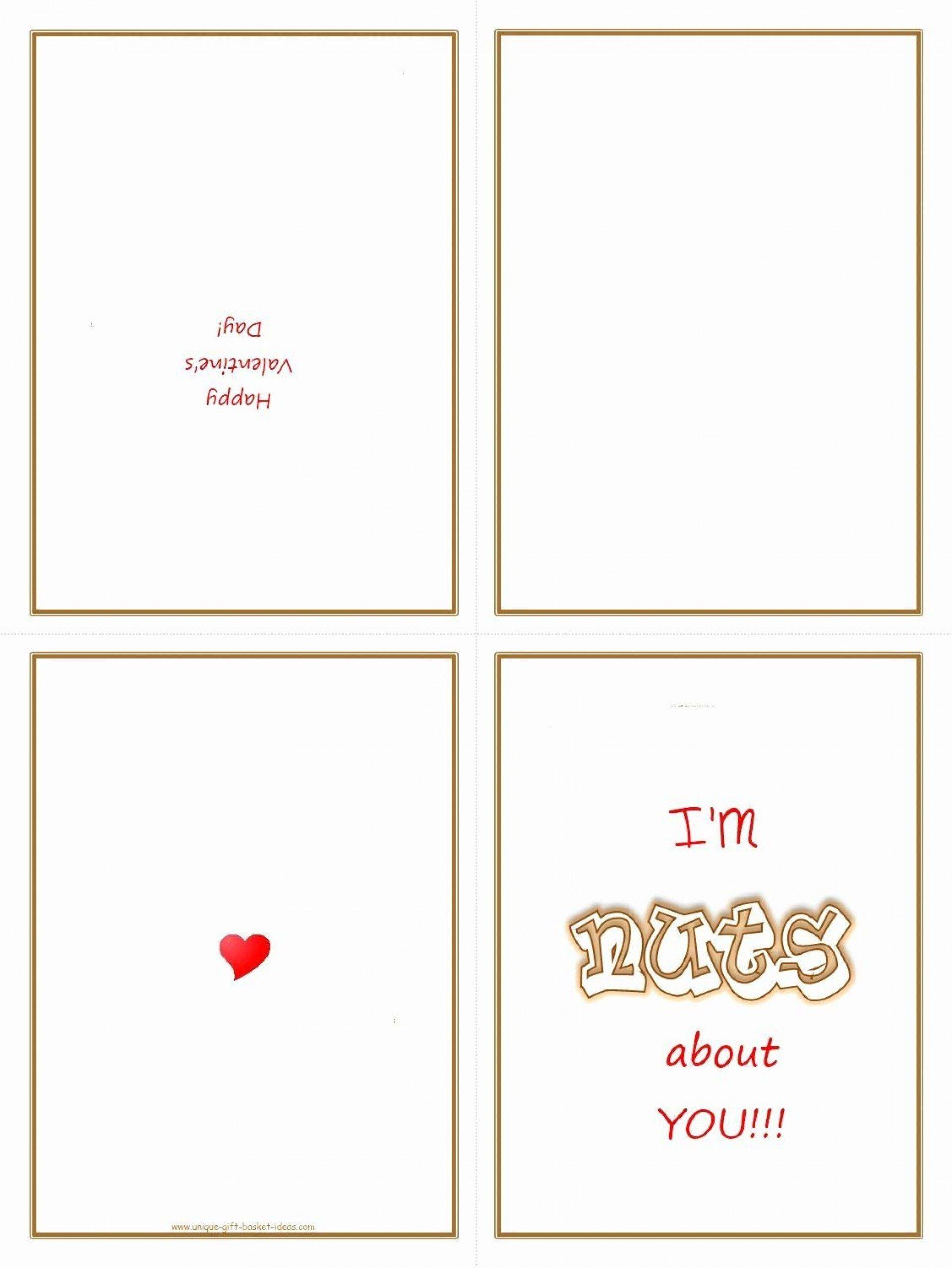 009 Shocking Quarter Fold Card Template Word Blank Image Full