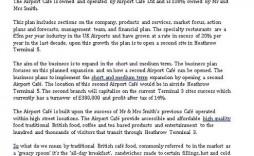 009 Shocking Restaurant Busines Plan Sample Uk Photo  Template Free