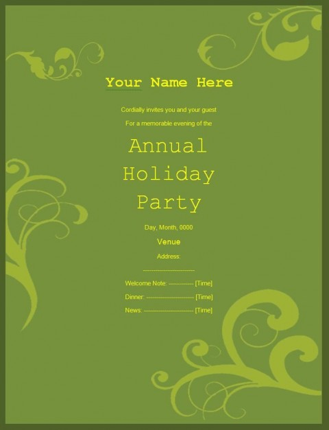 009 Shocking Retirement Party Invite Template Word Free Example 480