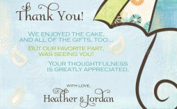 009 Shocking Thank You Note Wording Baby Shower Picture  For Hosting Card