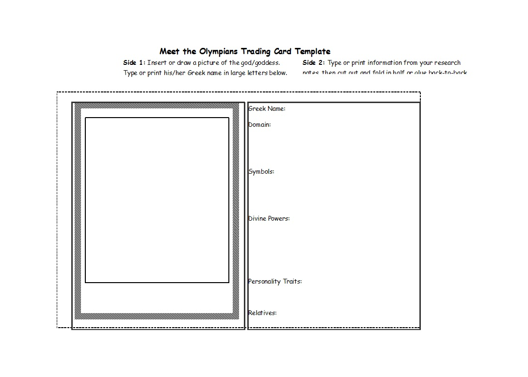 009 Shocking Trading Card Template Free Highest Quality  Game Maker DownloadFull