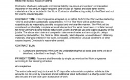 009 Shocking Writing A Job Proposal Template Sample High Definition
