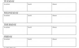 009 Simple 2 Week Meal Plan Printable Highest Clarity