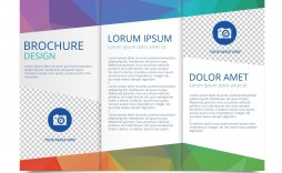 009 Simple 3 Fold Brochure Template Free High Def  Word Download