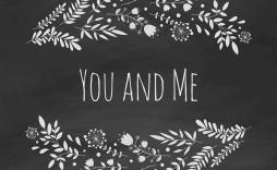 009 Simple Chalkboard Invitation Template Free Highest Clarity  Download Wedding Editable