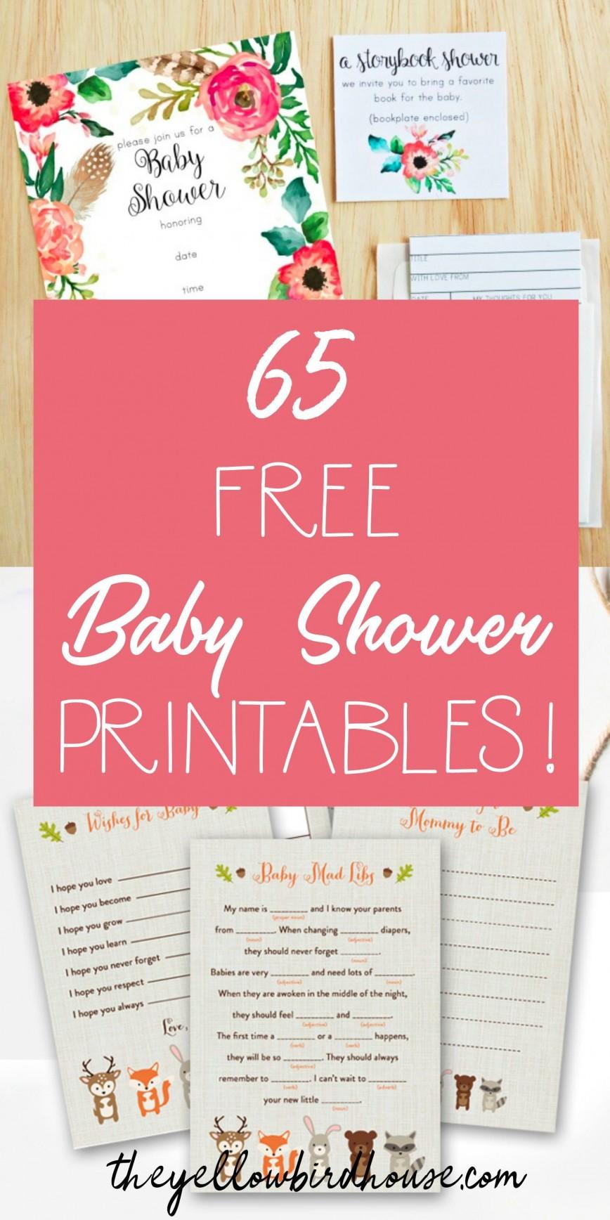 009 Simple Free Baby Shower Printable Elephant Inspiration  Blue Decoration